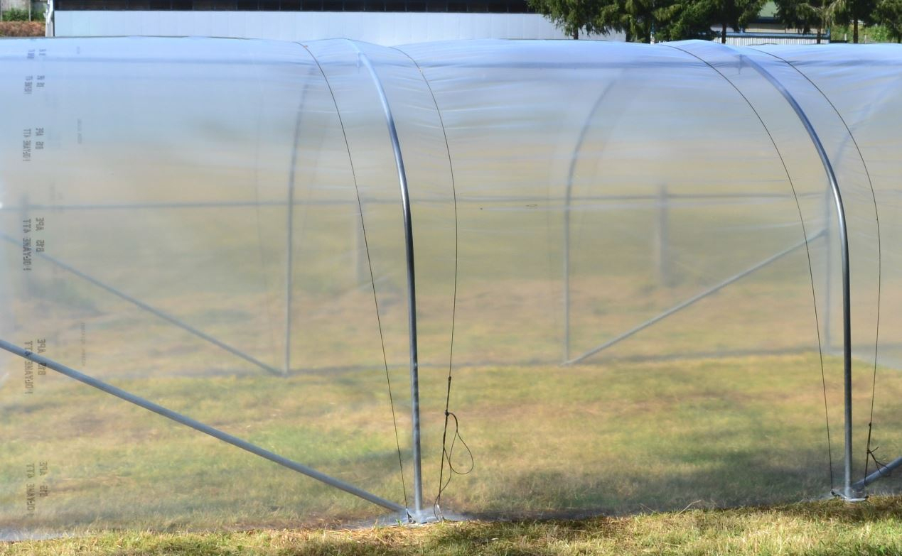 Jardin, Terrasse Film Plastique Polyane Pro 200Μ 7,25 M De ... concernant Tunnel Pour Jardin