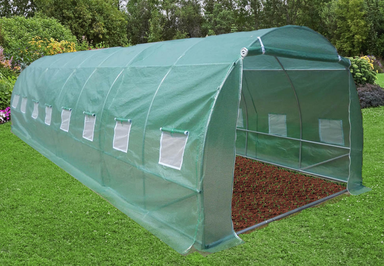 Jardin, Terrasse Structures, Parasols Châssis Protection ... destiné Serre De Jardin Florabest