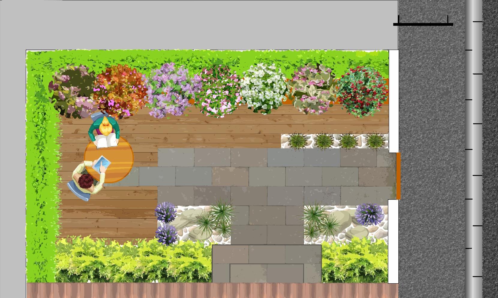 Jardin Urbain: Créer Un Petit Jardin De Ville avec Aménagement D Un Petit Jardin De Ville