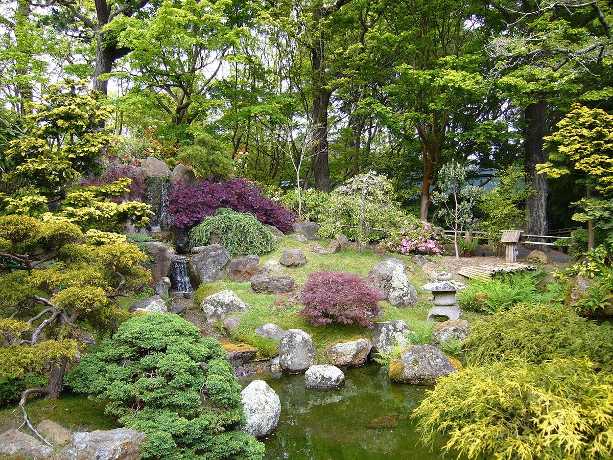 Jardin — Wikipédia dedans Comment Aménager Son Jardin Devant La Maison