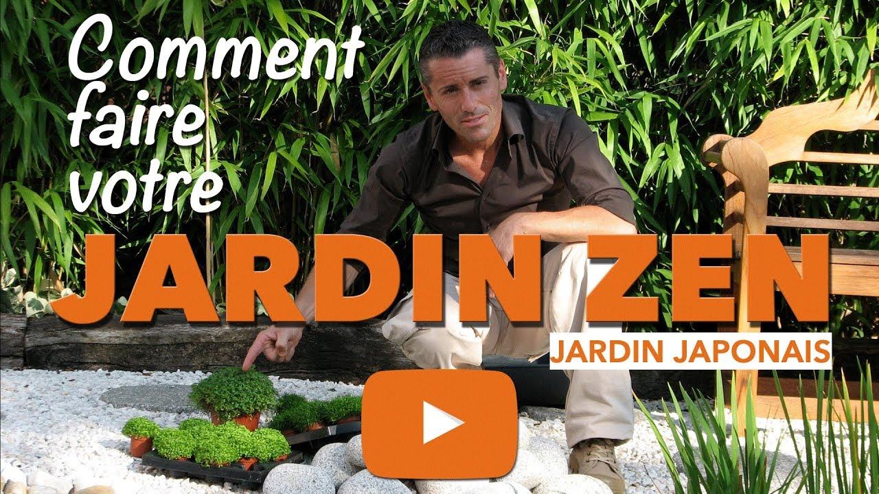 Jardin Zen-Comment Faire Un Petit Jardin Japonais ? tout Creer Un Petit Jardin Zen