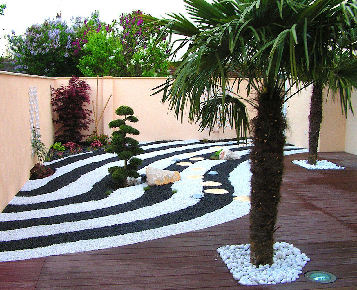 Jardin Zen Et Japonais Dijon | Design Paysage | Jardin Zen ... tout Idee Amenagement Jardin Zen