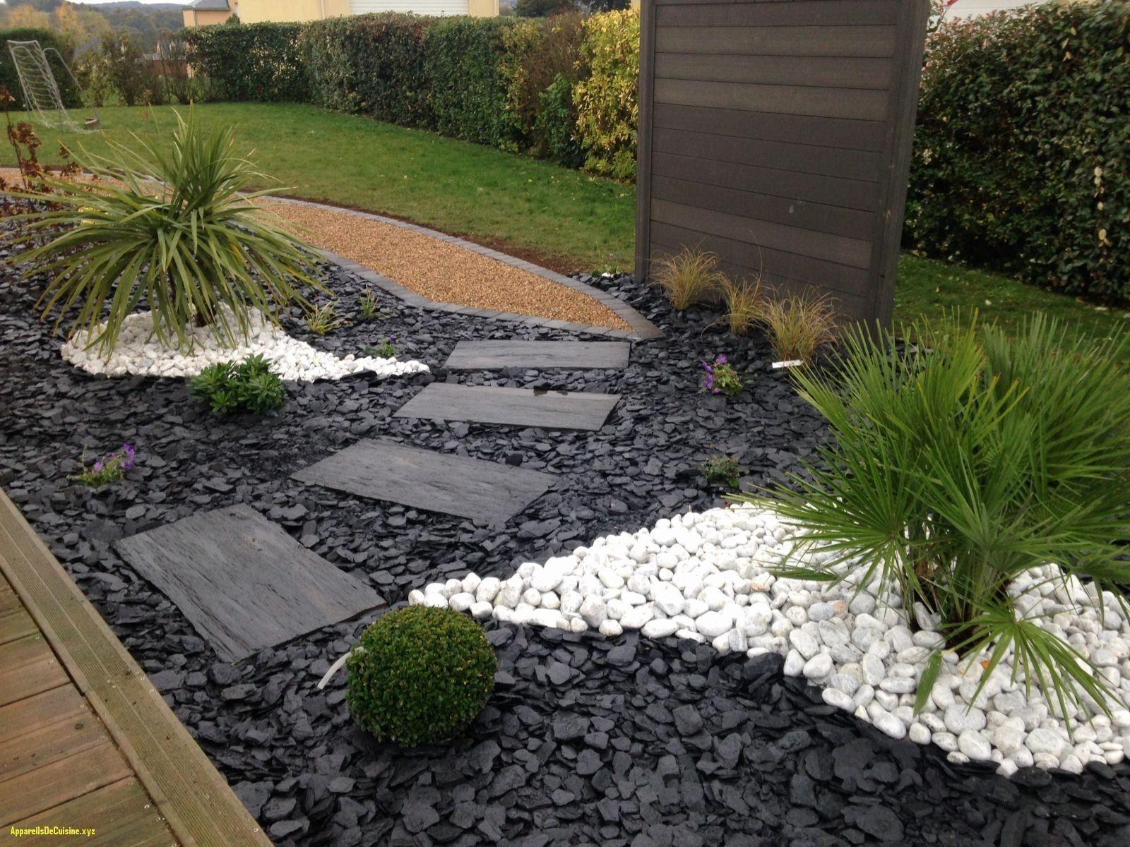 Jardin Zen Exterieur Best Of Amenagement Butte Exterieur ... intérieur Jardin Avec Galets Blancs