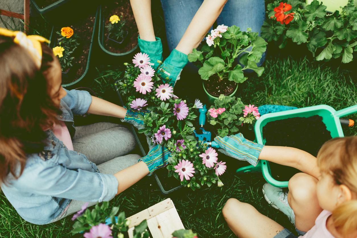Jardiner Avec Son Enfant : Les Conseils De Sécurité À Suivre ... encequiconcerne Siege Pour Jardiner