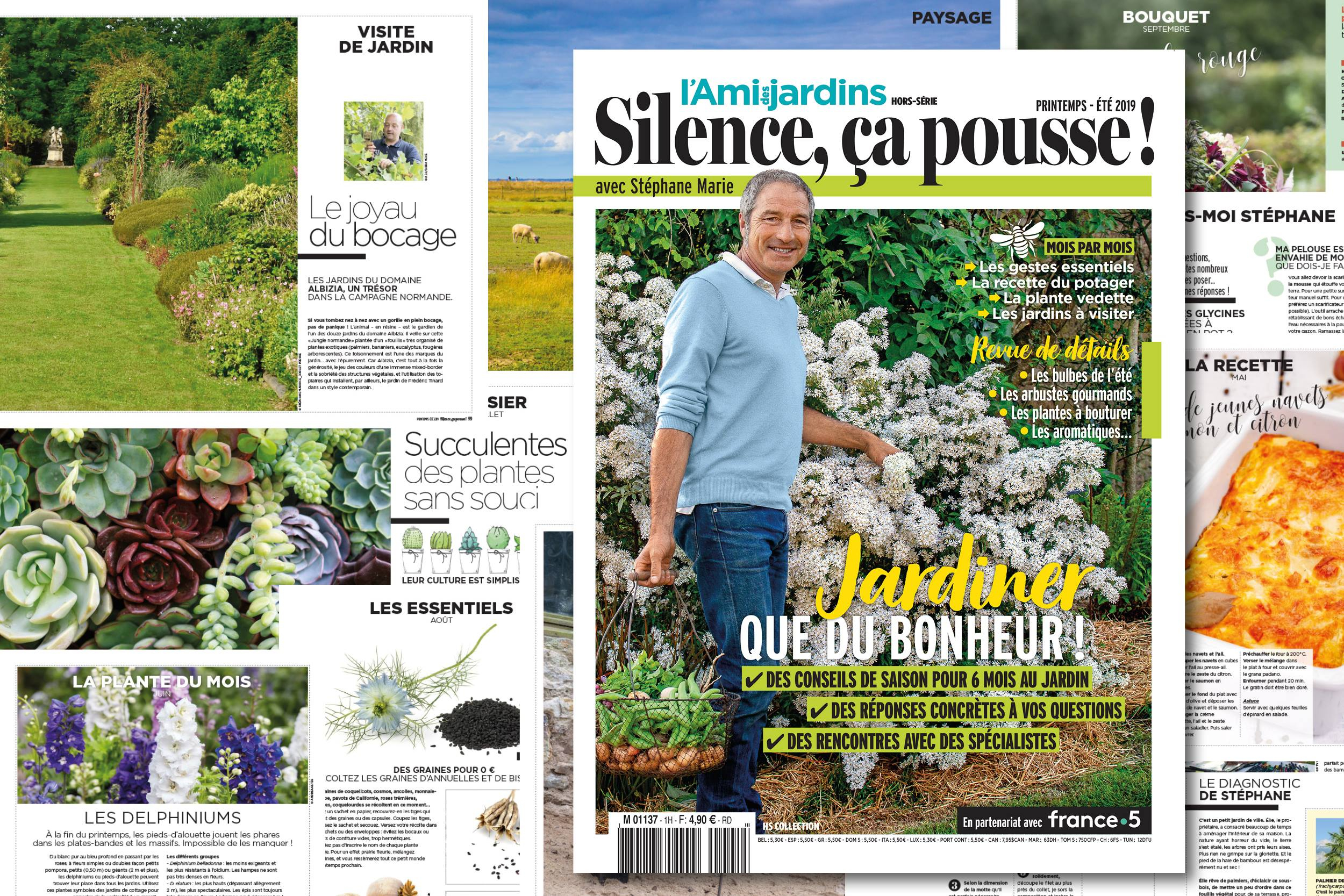 Jardinez Avec Stéphane Marie ! - Hortus Focus I Mag encequiconcerne L Ami Des Jardins Hors Série