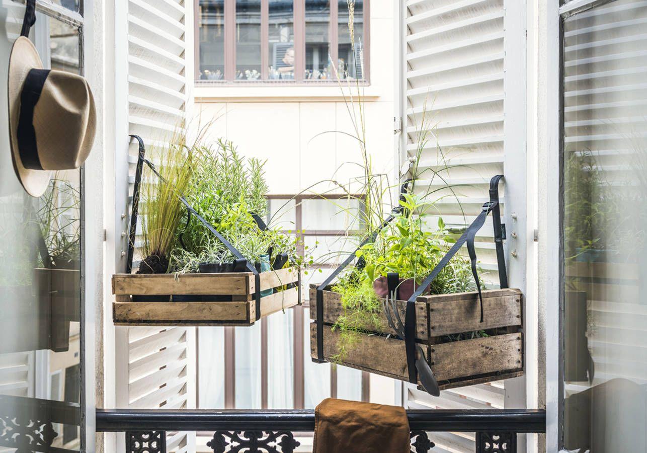 Jardinière Déco : Notre Sélection De Jardinières Pour Un ... intérieur Modèle De Jardin Fleuri
