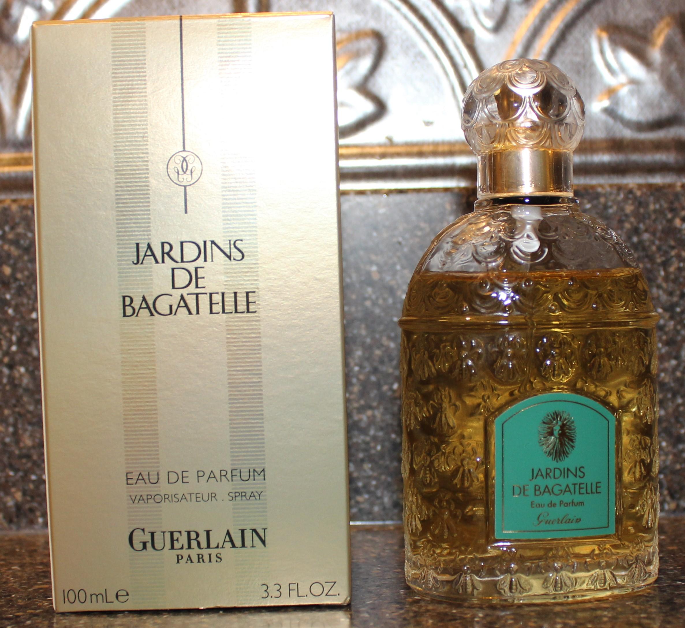 Jardins De Bagatelle By Guerlain (1983) — Basenotes tout Jardin De Bagatelle Parfum