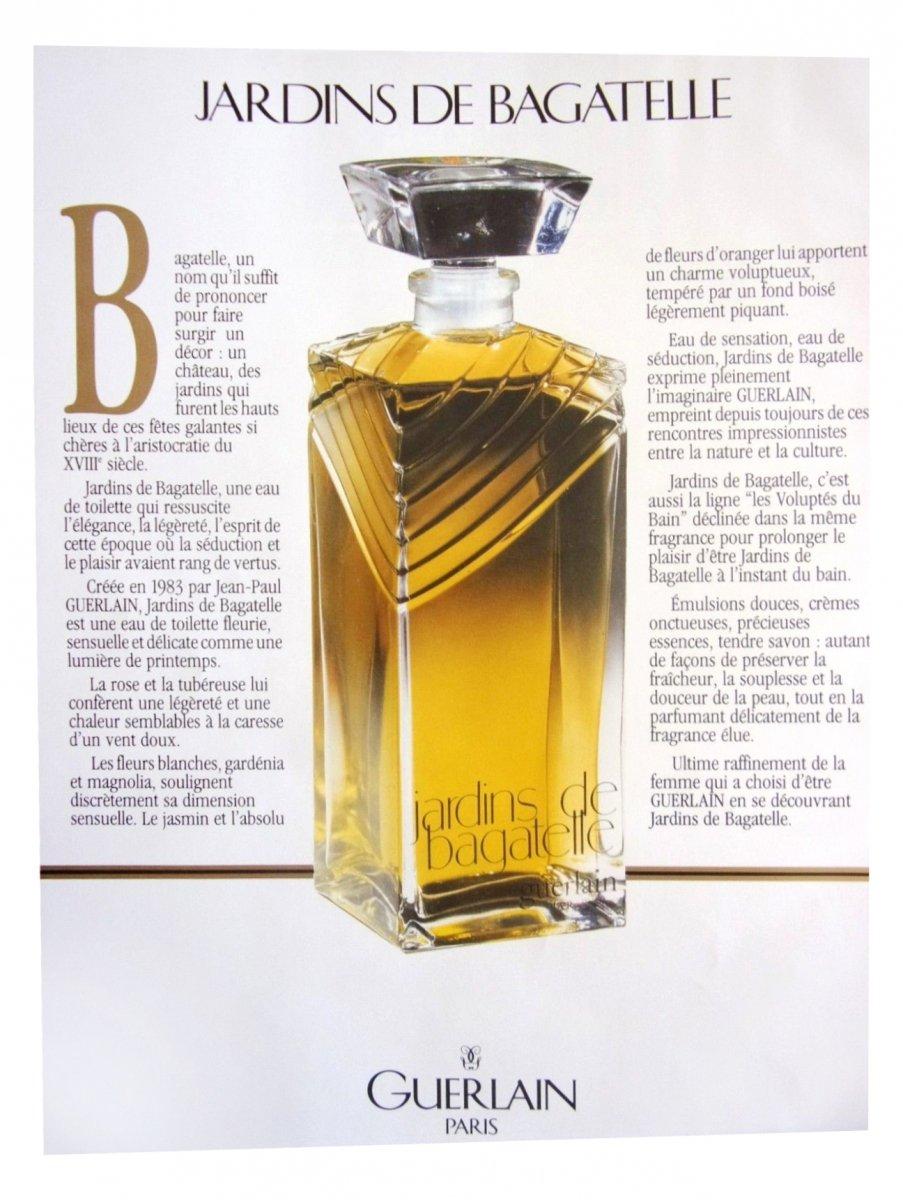 Jardins De Bagatelle Guerlain (1993)Eau De Parfum tout Jardin De Bagatelle Guerlain