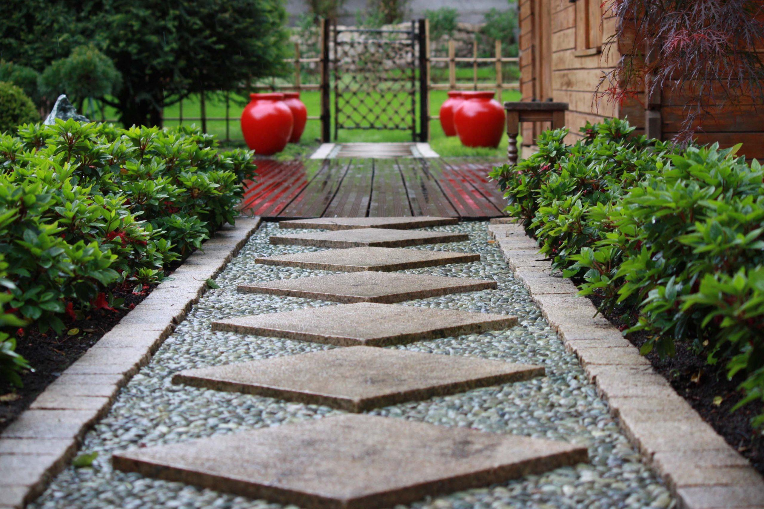 Jardins Du Japon Et ... D'ailleurs | Architecte-Paysagiste À ... destiné Jardin Japonais Sur Terrasse