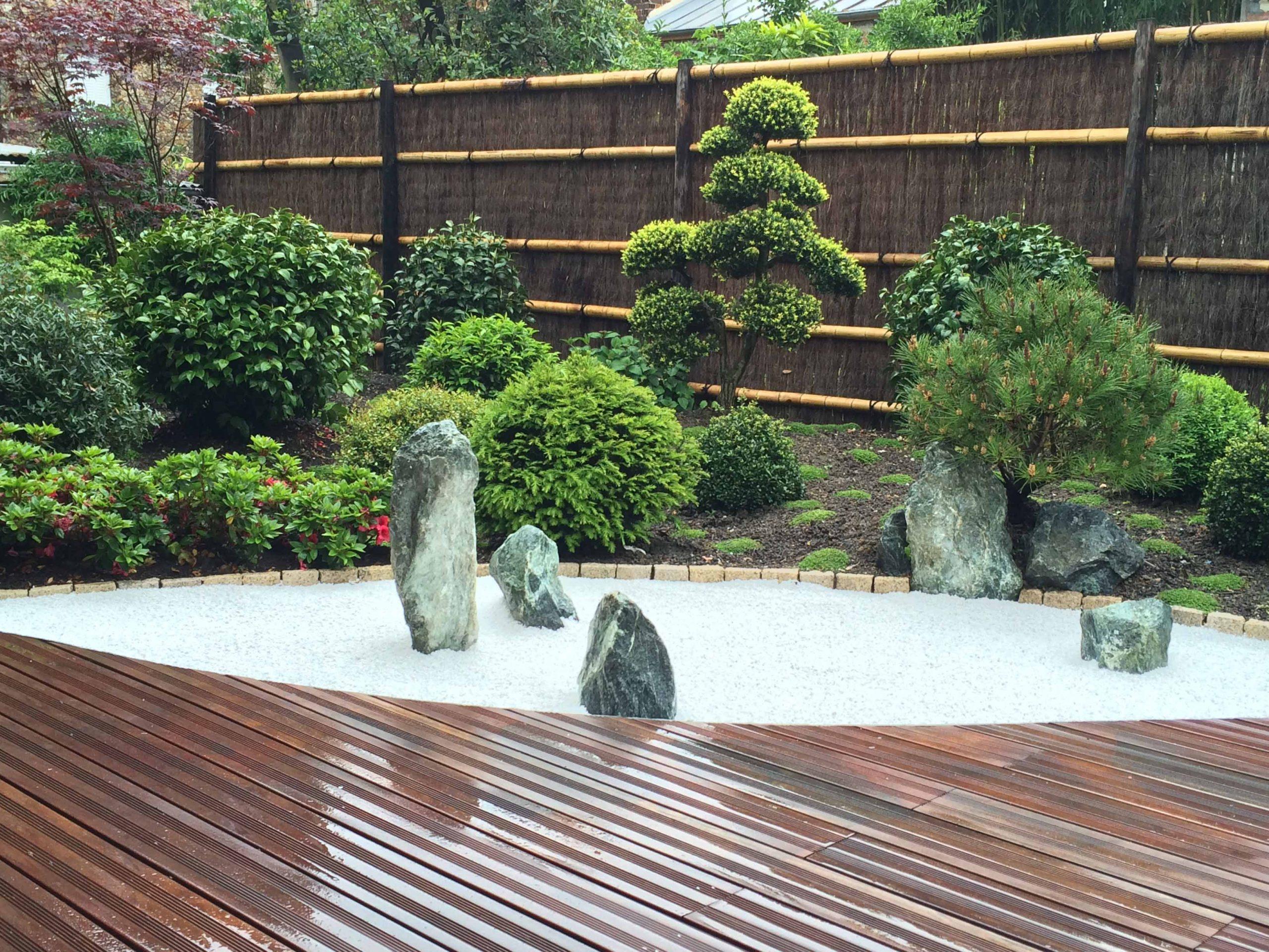 Jardins Du Japon Et ... D'ailleurs | Architecte-Paysagiste À ... intérieur Creer Un Jardin Sec