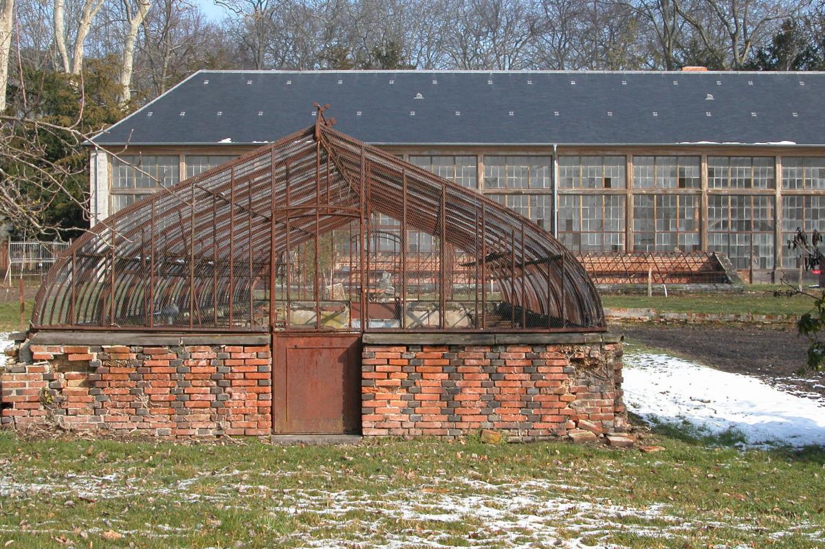 Jardins D'utilité | Domaine Royal De Randan avec Serre De Jardin Ancienne A Vendre