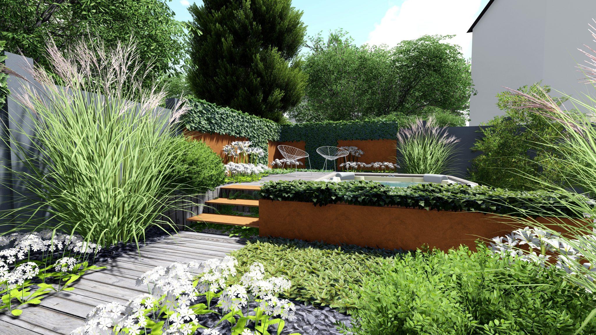 Jardins En 3D Et Plans Par Paysagiste tout 3D Jardin & Paysagisme