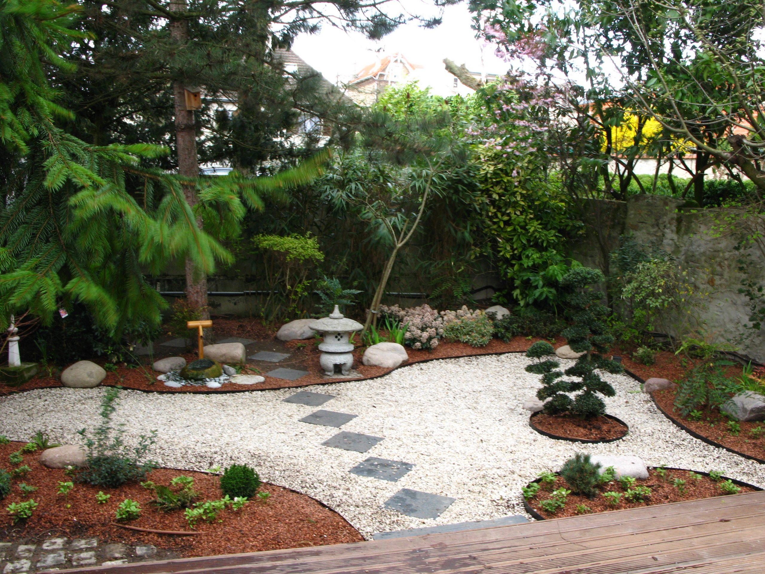 Jardins Japonais | Jardinier Paysagiste Paris Et 94 à Modele De Jardin Japonais