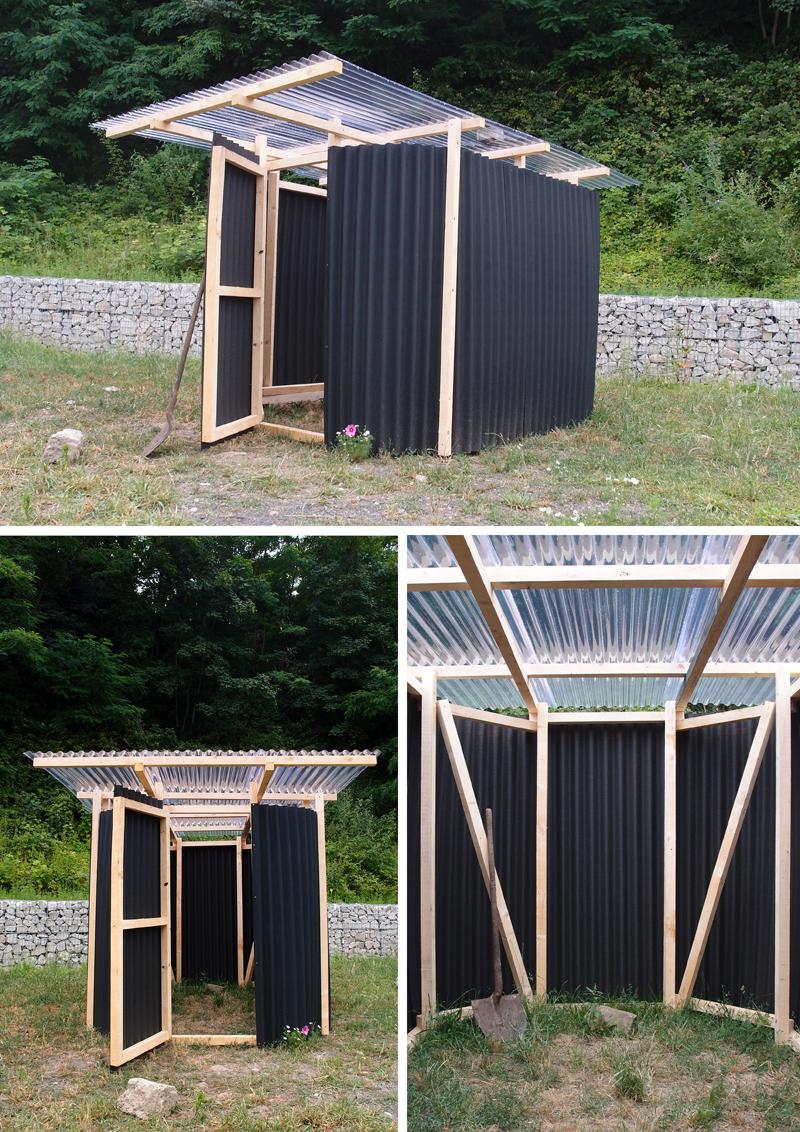 Je Construis Mon Abri ... - Constructifs à Cabane Outils De Jardin