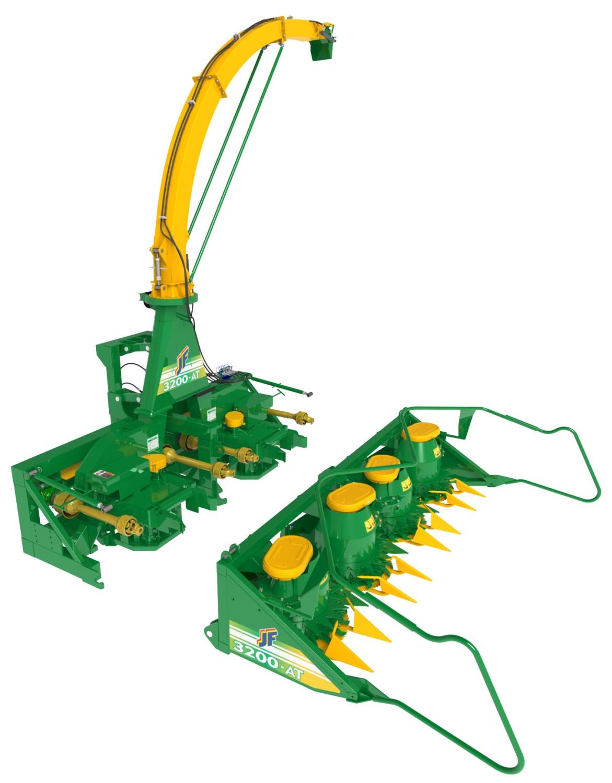 Jf 3200 At - Precision Forage Harvesters - Jf Máquinas avec Forage Jardin