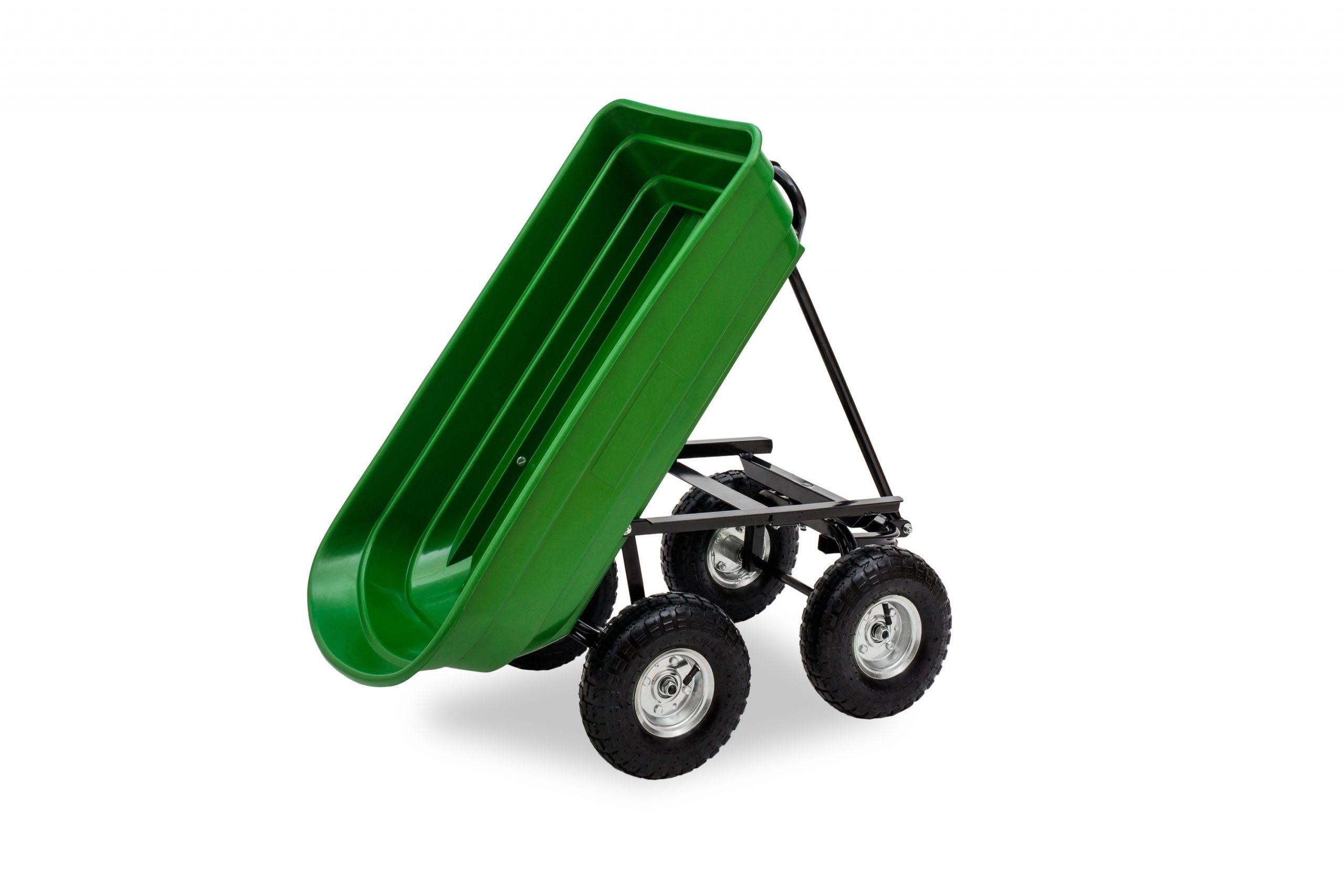 Jom Chariot Benne À Bascule De Jardin Chariot À Main Charette De  Basculement 75L/ 250 Kg serapportantà Charette Jardin