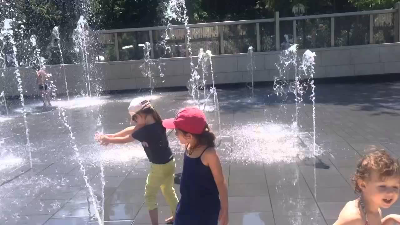Juillet 2015 - Jardin D'acclimatation- Jets D'eau - avec Jeux D Eau Jardin