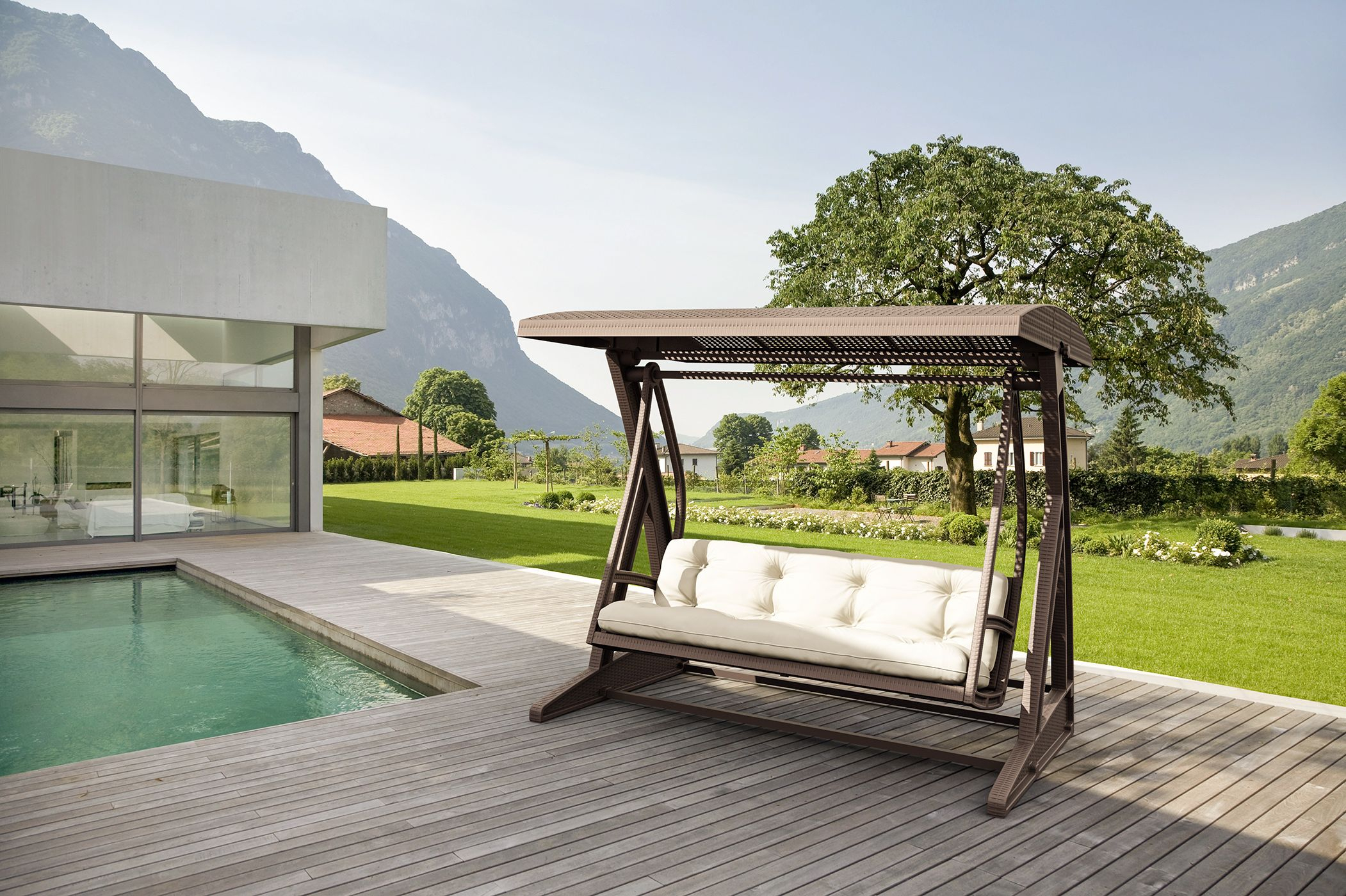 Kaliteli Ve Şık Bahçe Mobilyası Modelleri Lara Concept 'de ... serapportantà Bache Pour Salon De Jardin