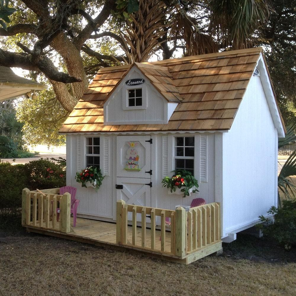 Kidsplayhouseplans | Maisonnette En Bois, Cabane Bois Enfant ... tout Maisonette Jardin Enfant