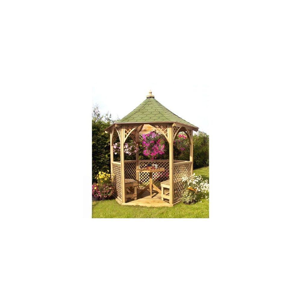 Kiosque De Jardin Vivaldi - Bois Pefc - Jagram intérieur Kiosque De Jardin En Bois