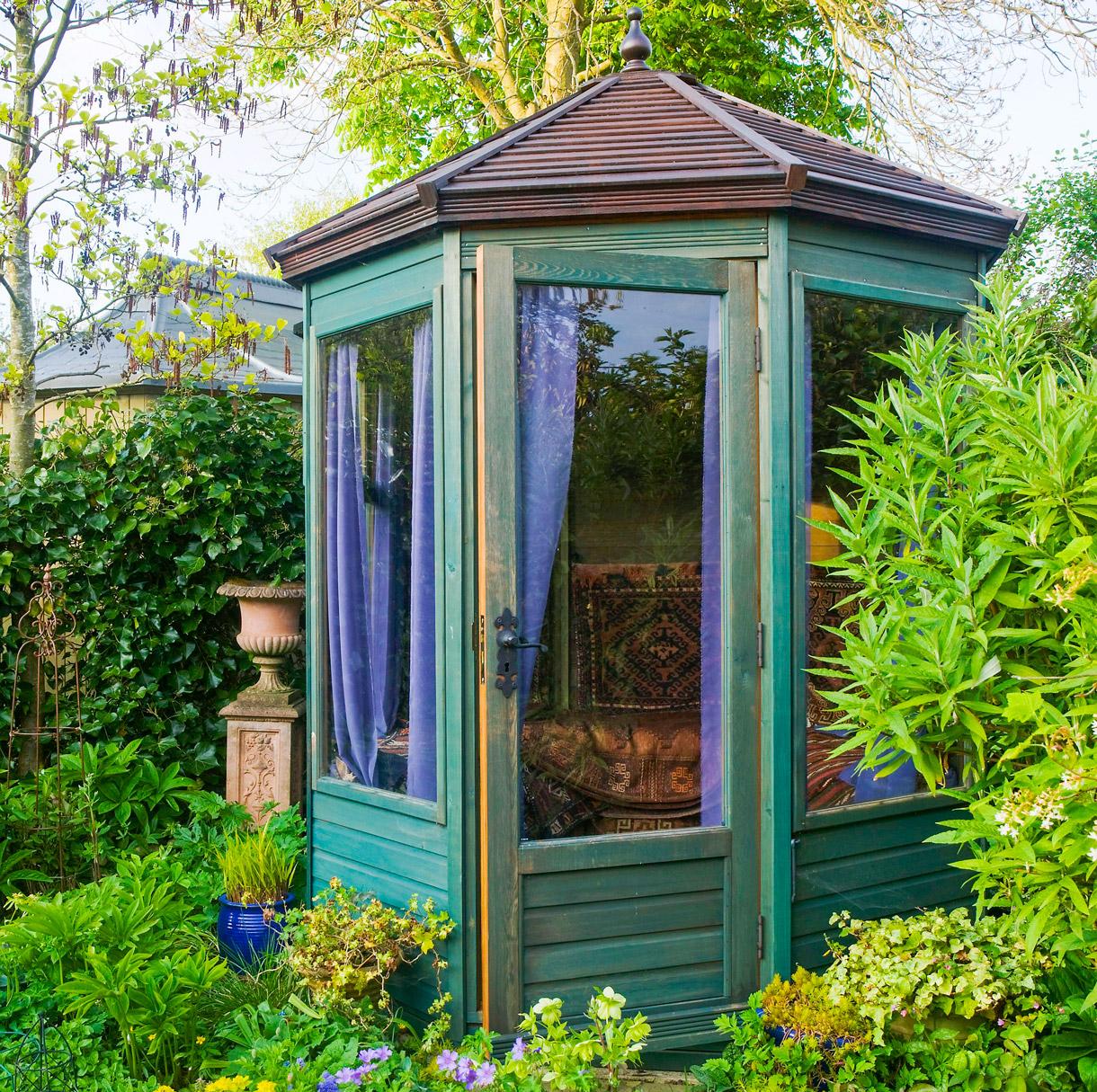 Kiosque Jardin, Kiosque En Bois Pour Jardin   Détente Jardin dedans Kiosque De Jardin En Bois Pas Cher