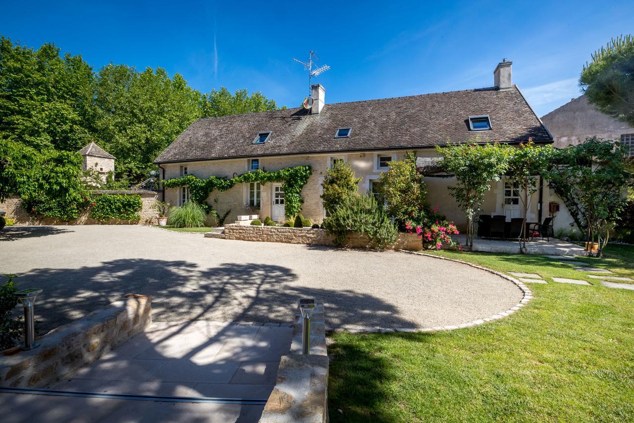 Kır Evi Le Jardin De Maurice (Fransa Sainte-Marie-La-Blanche ... avec Location Rez De Jardin Dijon
