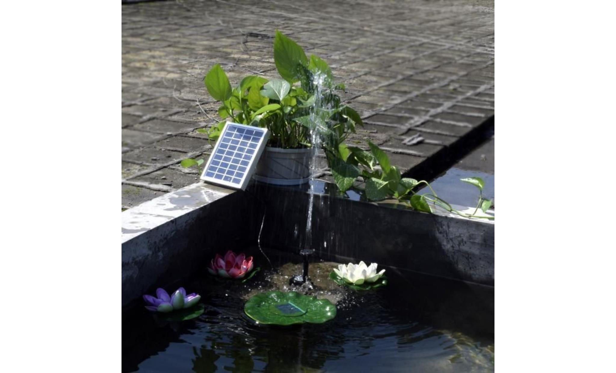 Kit Bassin De Jardin. Kit Pompe Solaire Pour Bassin De ... avec Kit Bassin Jardin