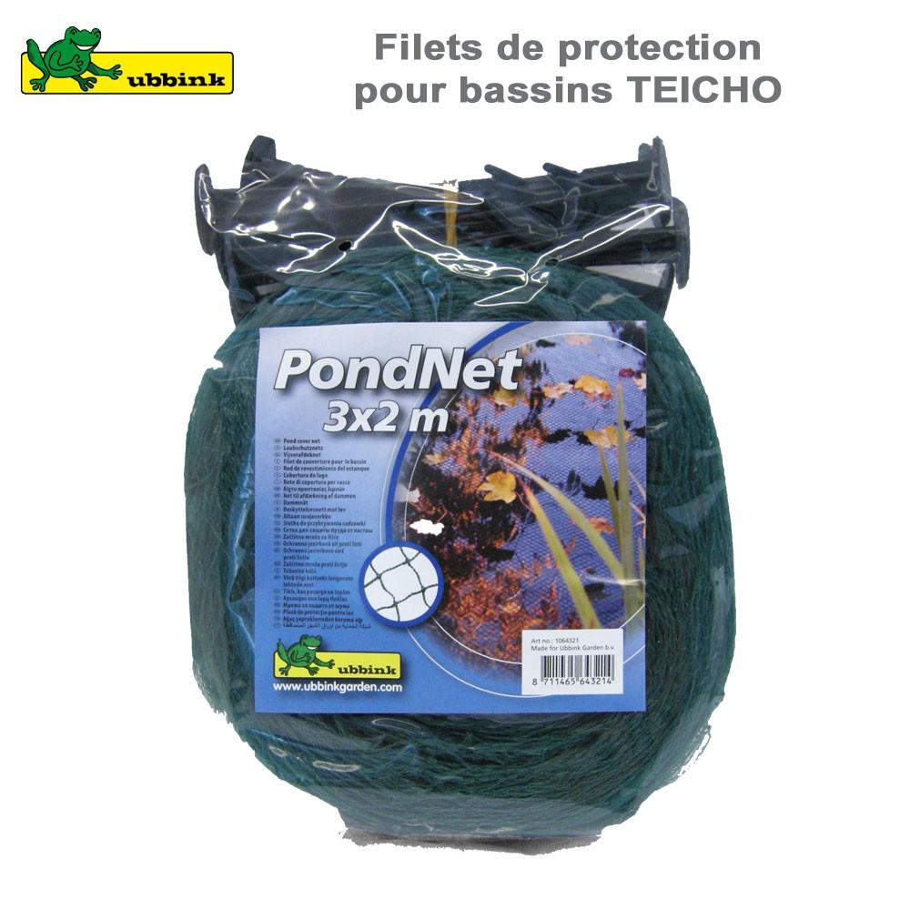 Kit De Raccordement Pour Bassin De Jardin Quadra Ubbink ... encequiconcerne Filet De Protection Jardin