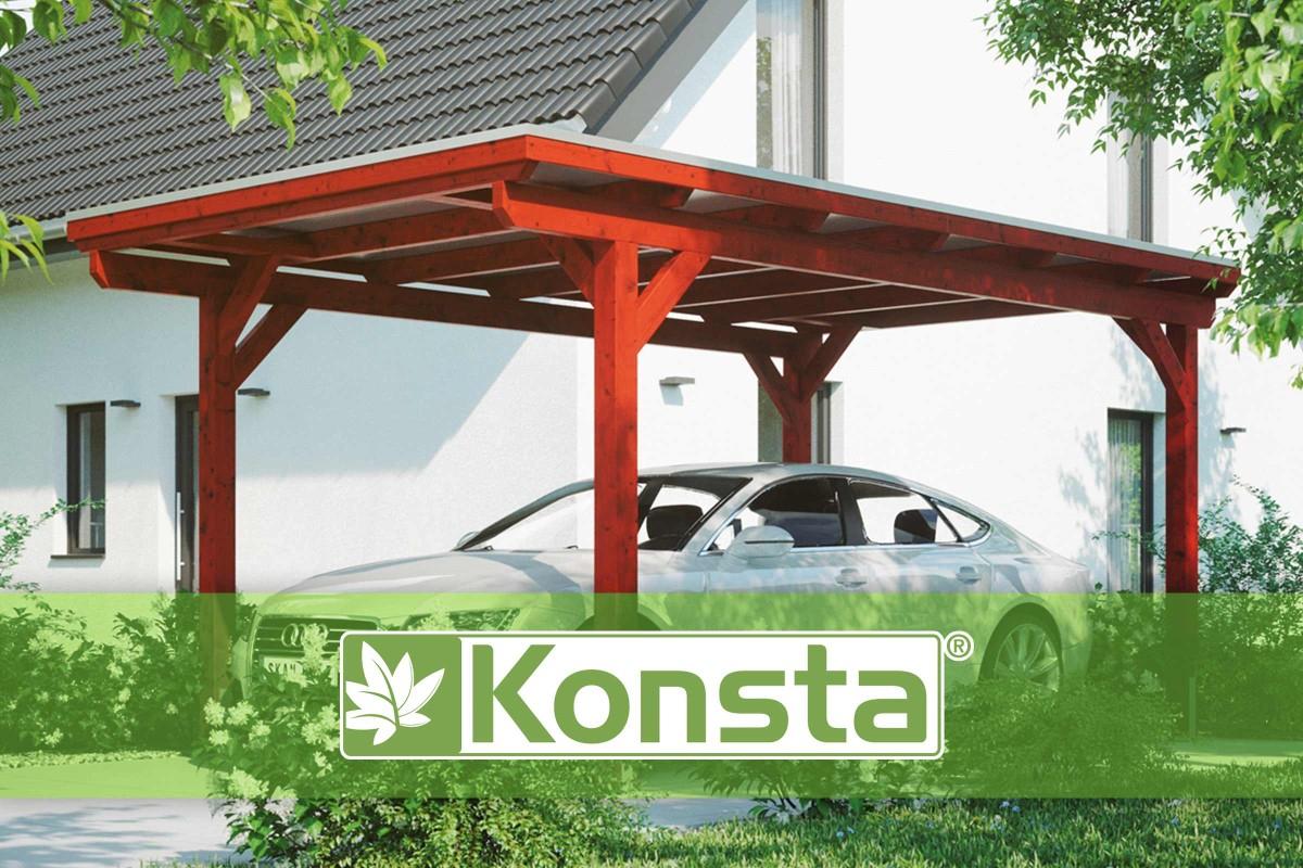 Konsta - La Marque De Carports | Hornbach Suisse pour Abri De Jardin Hornbach