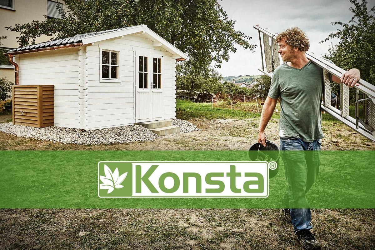 Konsta - La Marque De Maisons De Jardin | Hornbach Suisse destiné Abri De Jardin Hornbach