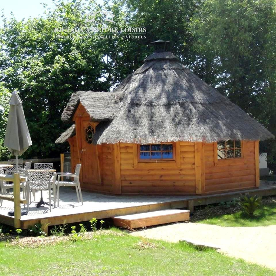 Kota Finlandais Habitable   Gite Insolite, Hébergement ... dedans Abri De Jardin Finlandais