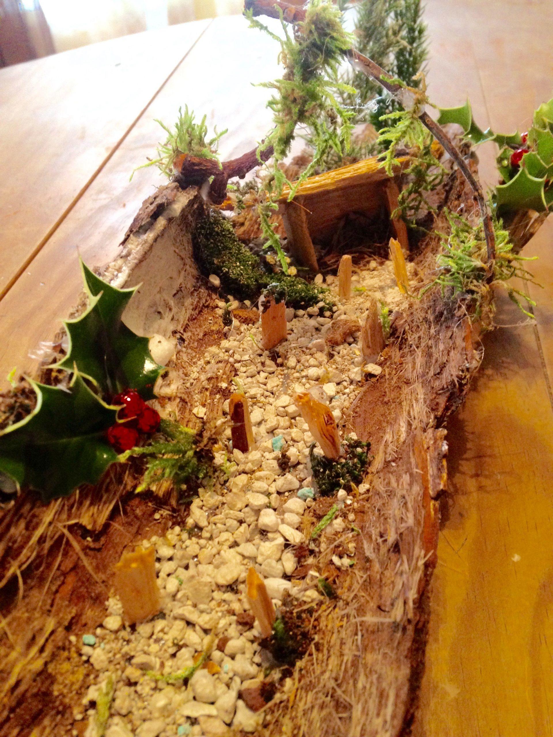 Krisamateur Kris Création Perso Recyclage Écorces, Mousses D ... à Ecorces Jardin