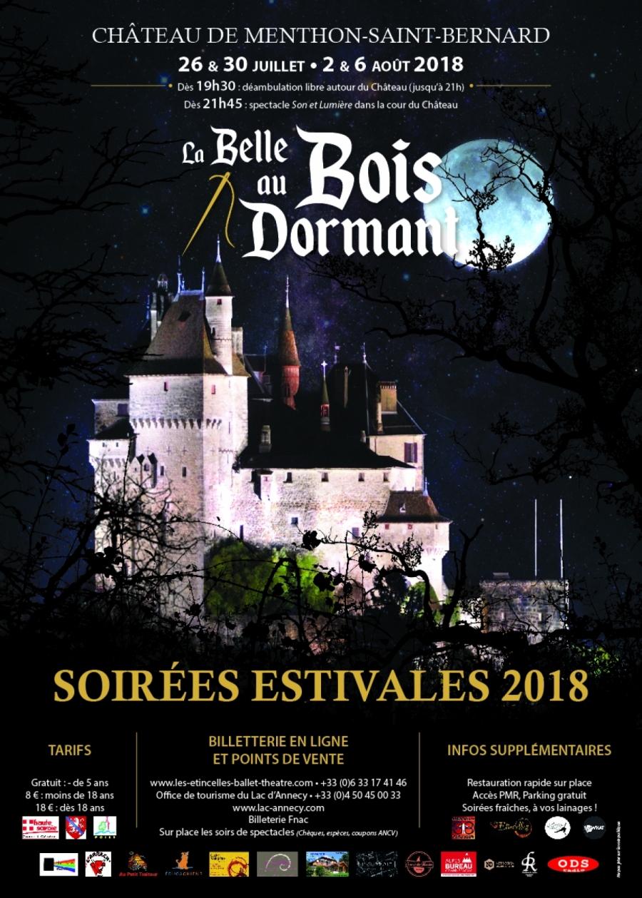 La Belle Au Bois Dormant, Féerie Au Château ! - Canard Du ... pour Les Jardins Du Château Annecy