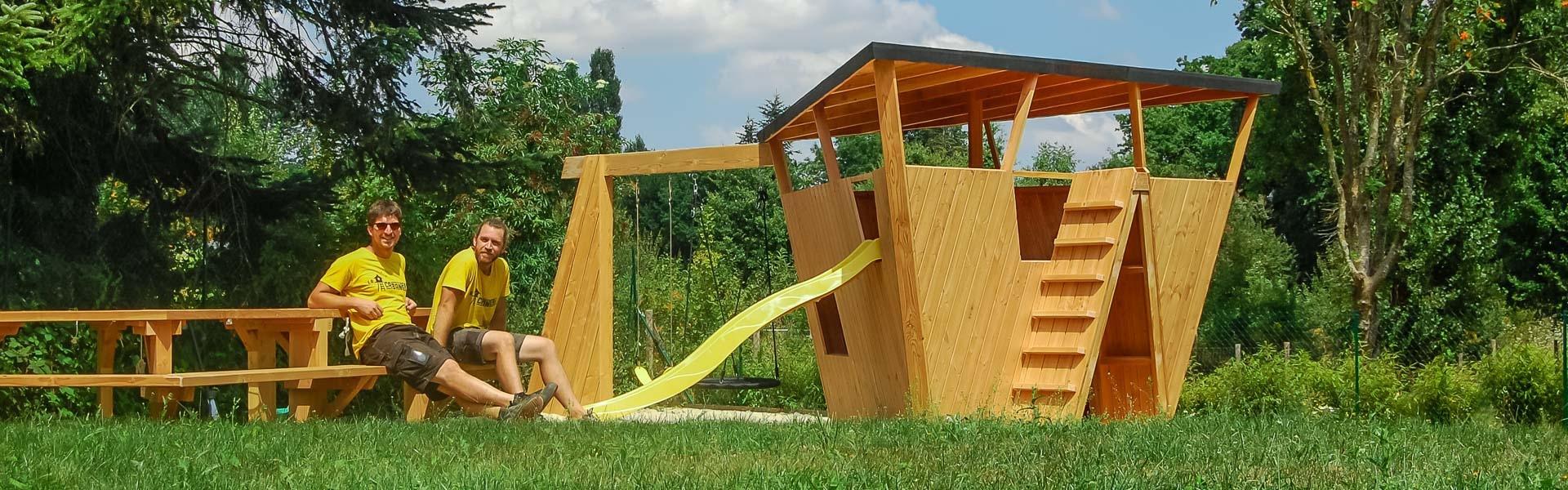 La Cabanerie ⋆ Structures Bois Sur Mesure concernant Maison De Jardin Pour Enfants