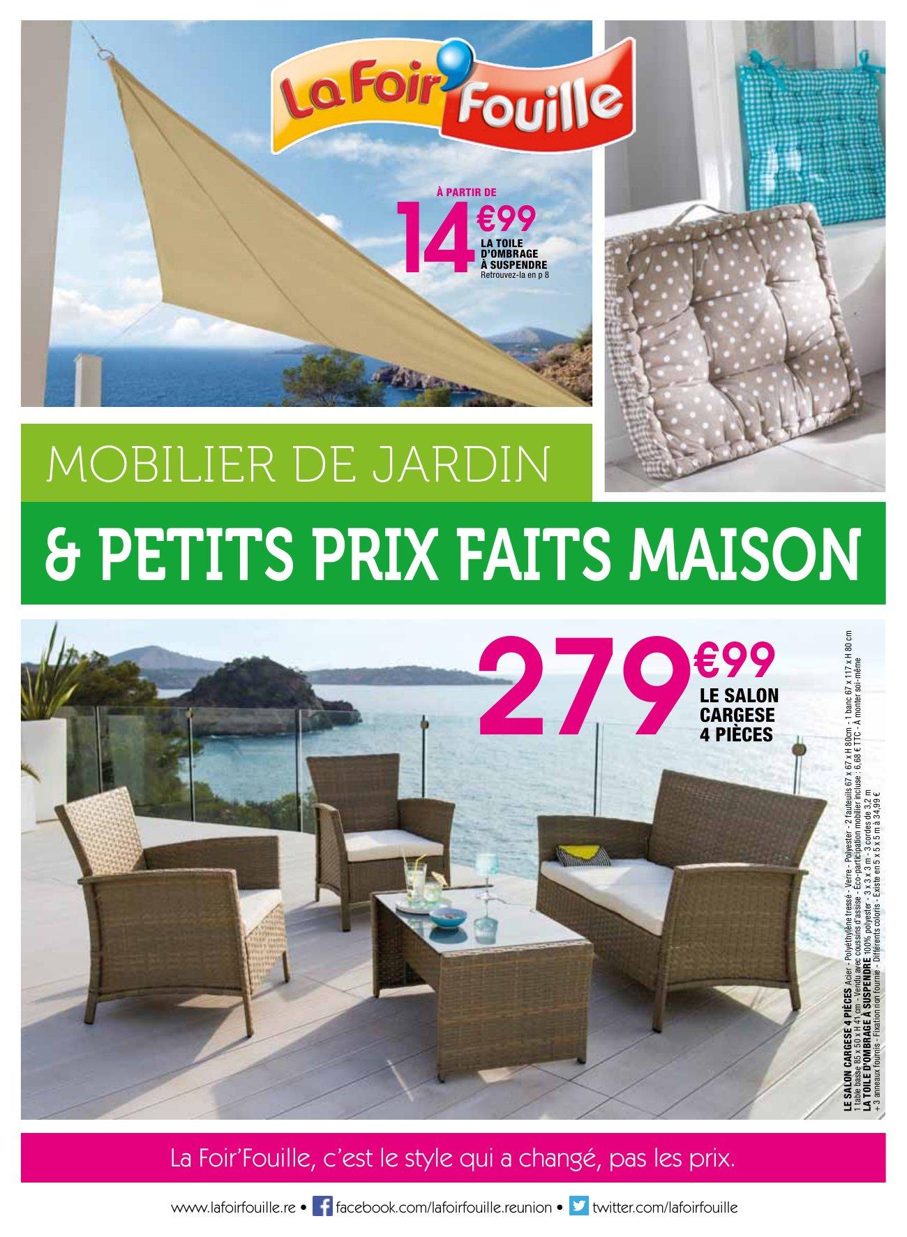 La Foir'fouille : Mobilier De Jardin & Petits Prix Faits Maison concernant Foir Fouille Salon De Jardin