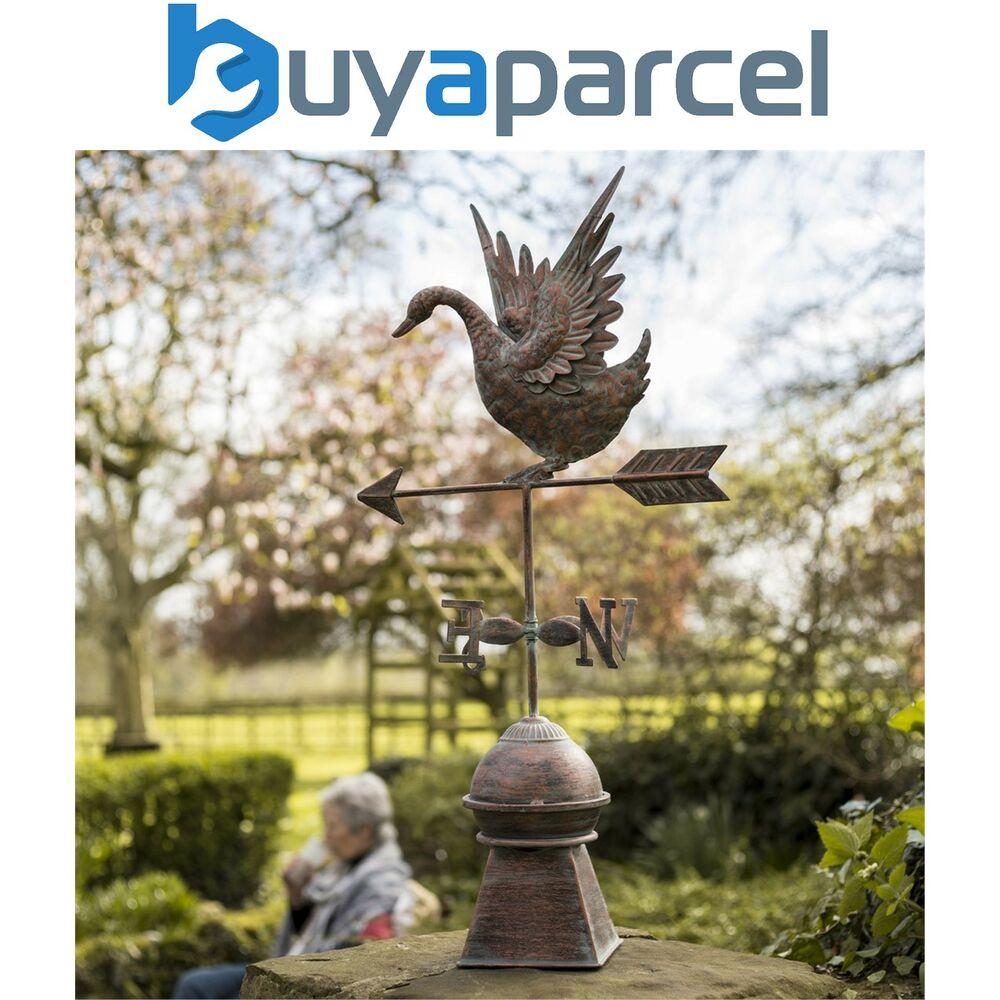 La Hacienda 55694 Odette Swan Canard Oiseau Jardin Jardin En ... tout Girouette De Jardin