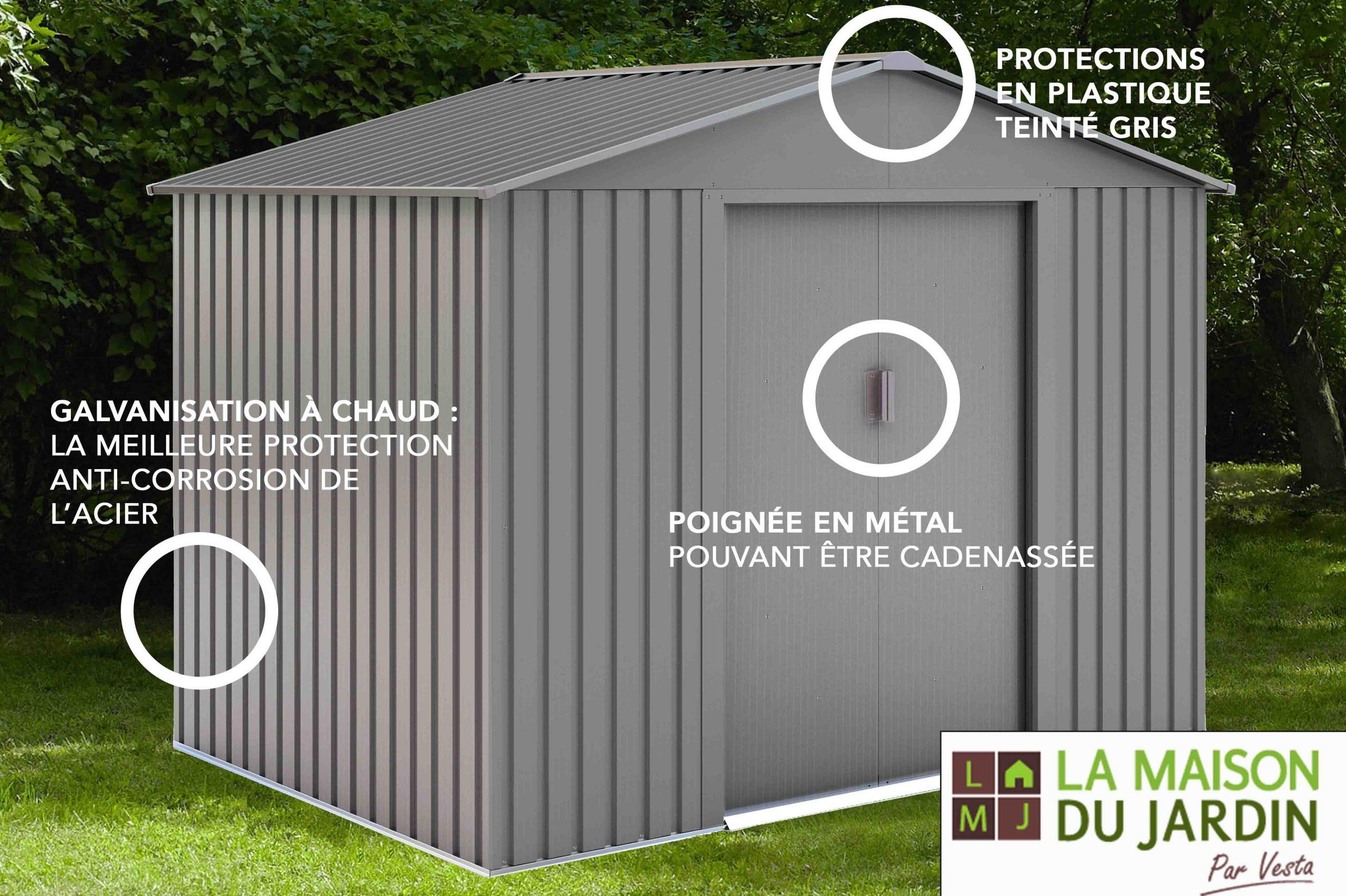 La Maison Du Jardin:chalet & Jardin pour Cabane De Jardin En Tole