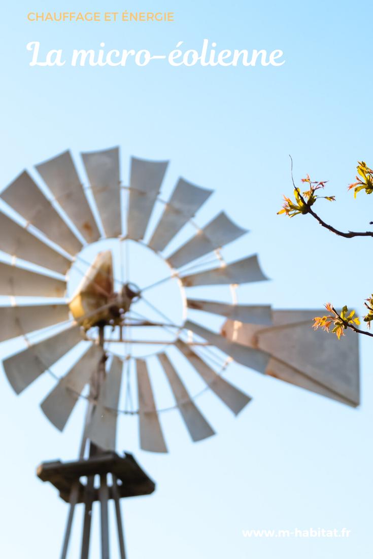 La Micro Éolienne : Une Petite Éolienne Petite Et Légère, Au ... encequiconcerne Petite Éolienne De Jardin