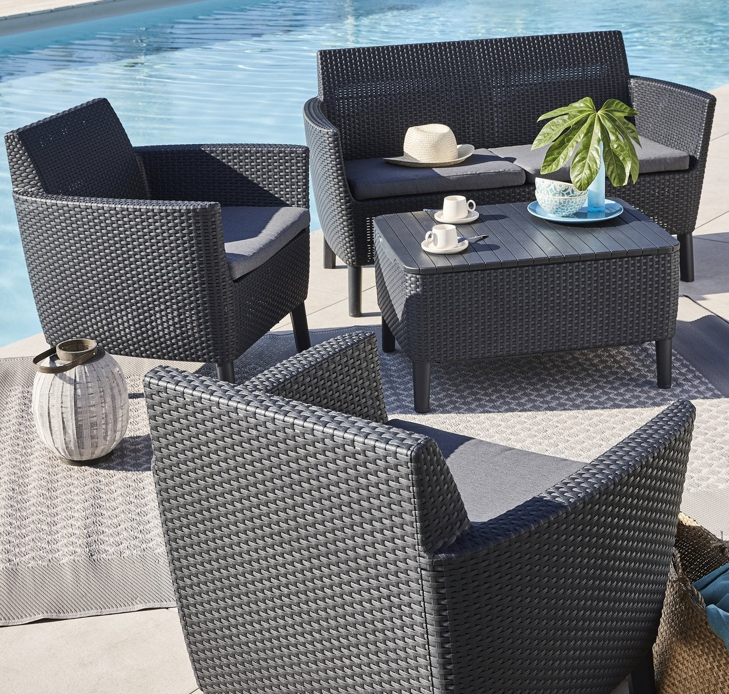 La Nouvelle Collection De Salon De Jardin 2019 | Leroy Merlin à Mobilier De Jardin Leroy Merlin