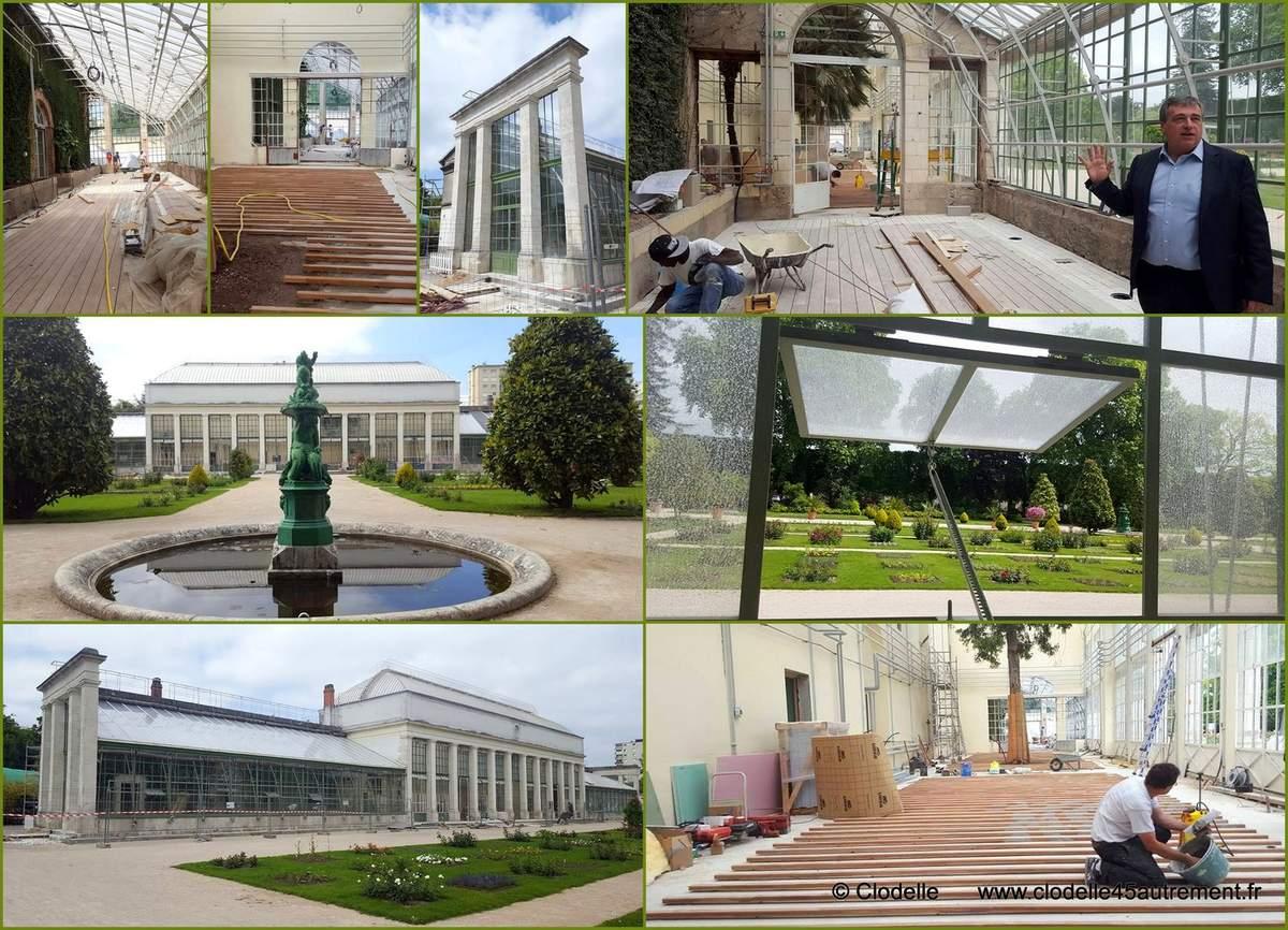 La Serre Du Jardin Des Plantes D'orleans Transformée En ... avec Exposition Serre De Jardin