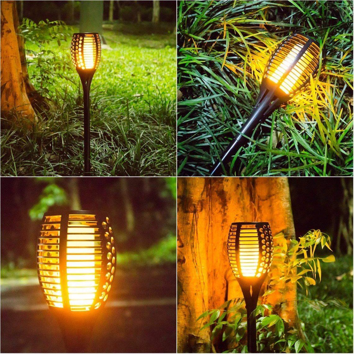 La Torche Led Solaire - Zone Led serapportantà Pile Pour Lampe Solaire De Jardin