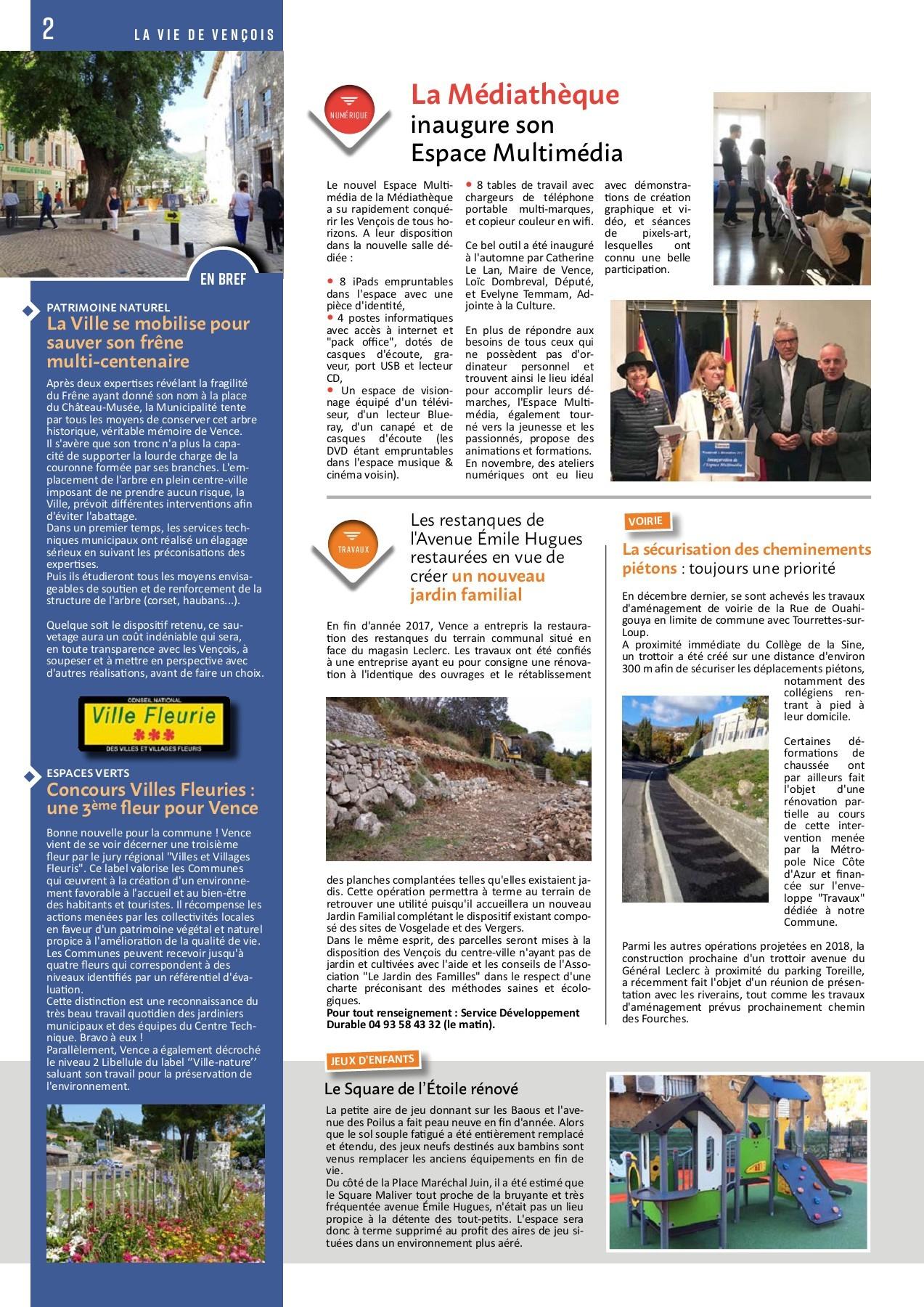 La Vie De Vençois N16 Pages 1 - 8 - Text Version | Fliphtml5 intérieur Table De Jardin Magasin Leclerc