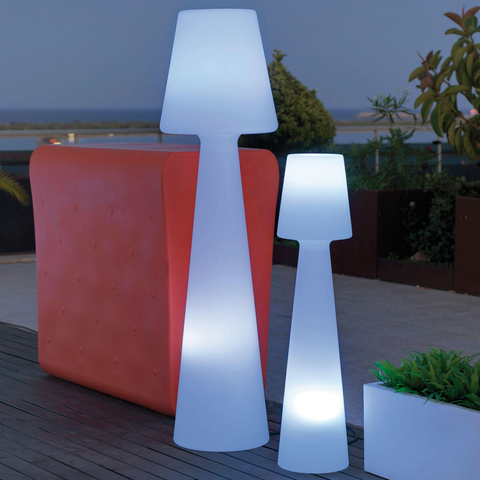 Lampada Da Terra Lampada Da Terra/piantana H110Cm, In ... destiné Eclairage De Jardin Leroy Merlin