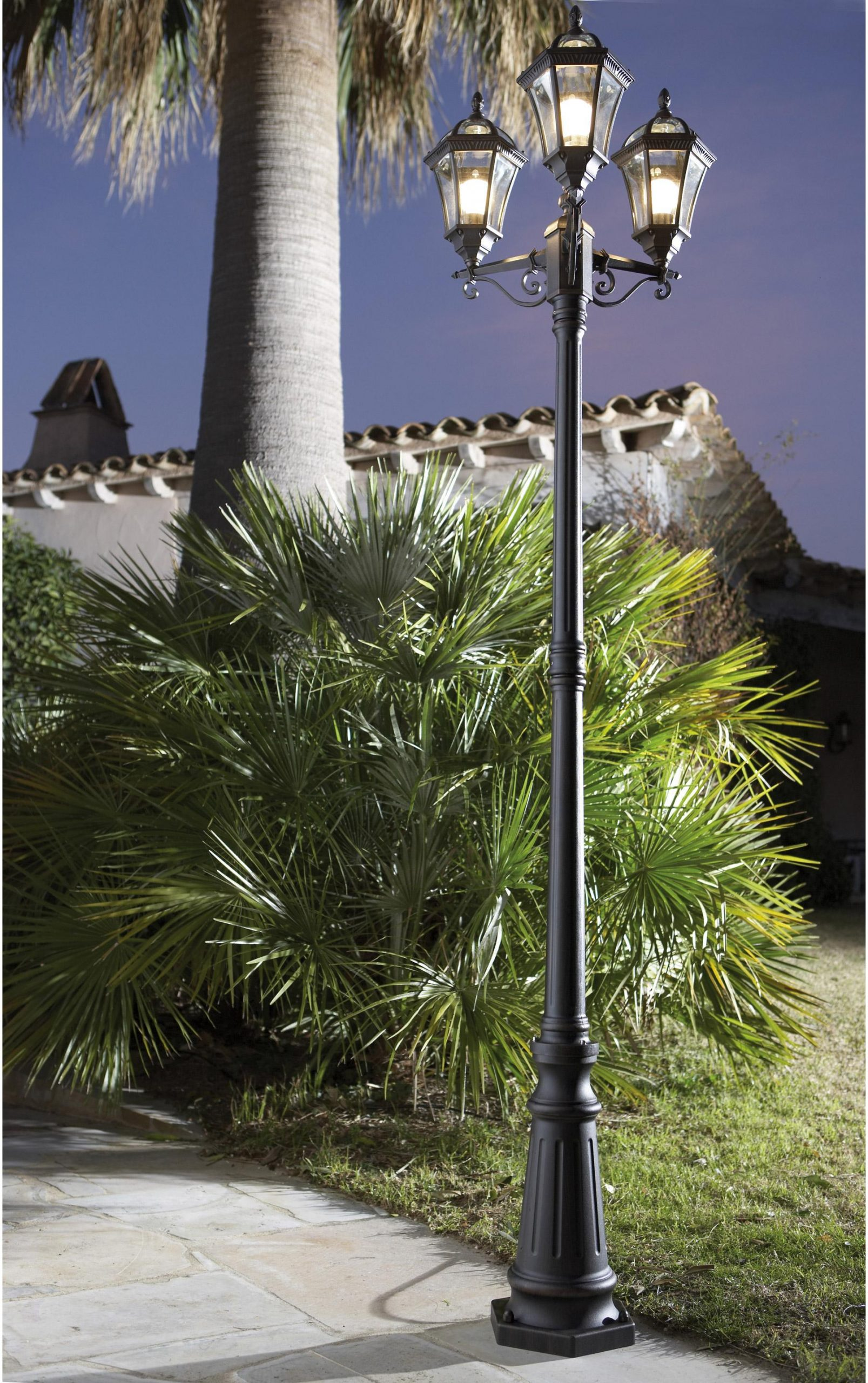 Lampadaire Extérieur E27 Max 100W Rouille Jaipur Inspire ... serapportantà Lampadaire Jardin Leroy Merlin