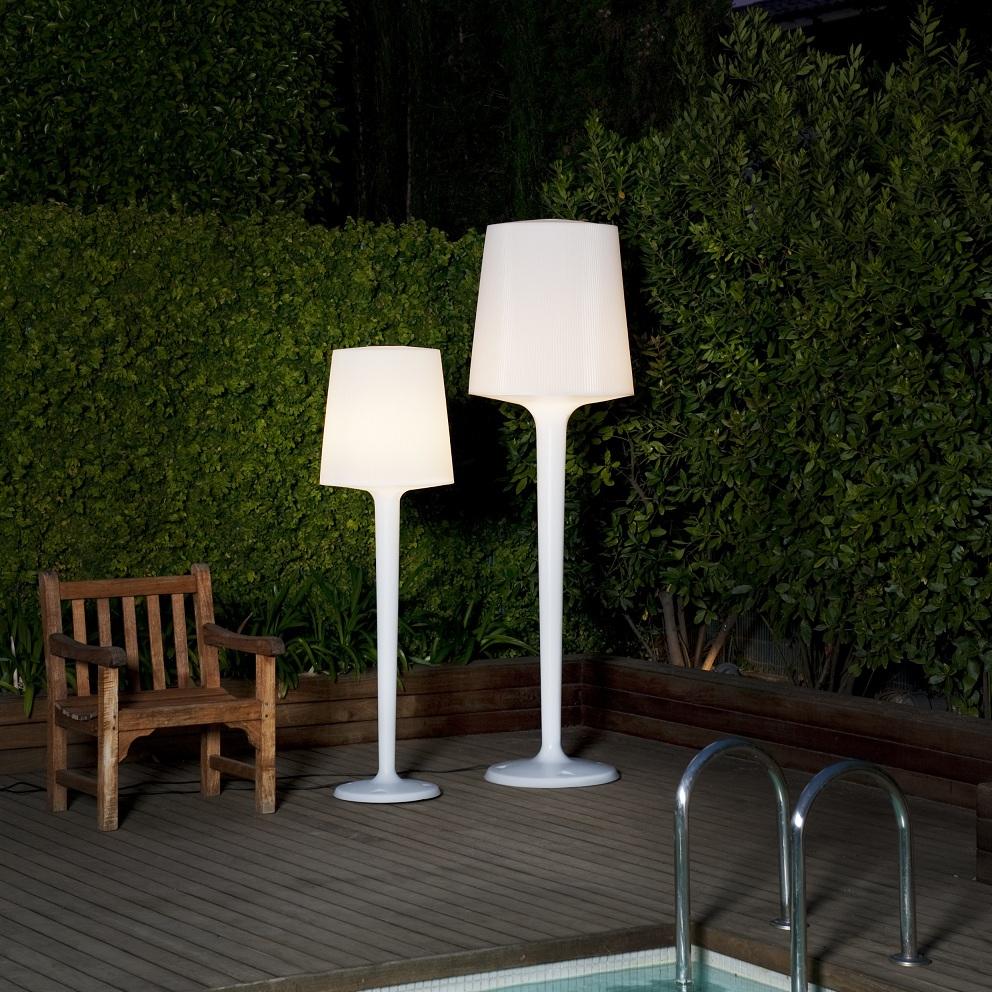 Lampadaire Extérieur Terrasse – Eclairage Extérieur à Lampadaire De Jardin Sur Pied