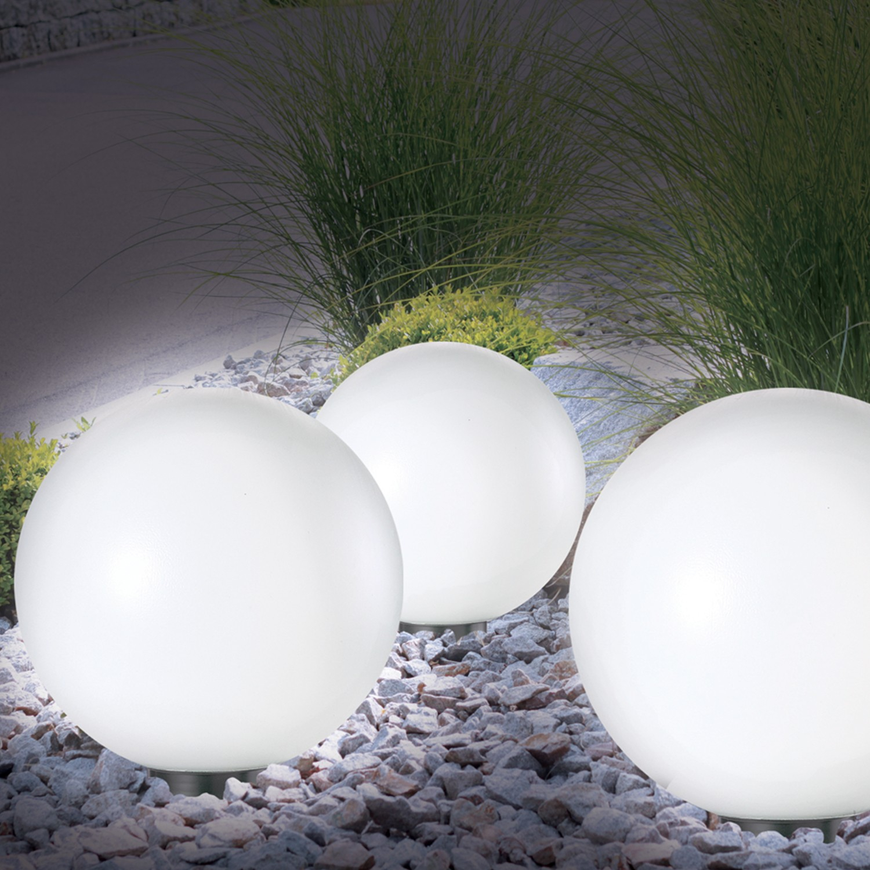 Lampe Boule 20 Cm Solaire Design Probache destiné Boule Lumineuse Jardin