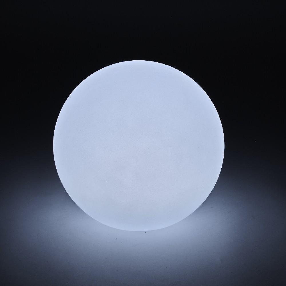 Lampe Boule Solaire Lumineuse Flottante 2 Leds 7 Couleurs encequiconcerne Boule Lumineuse Jardin