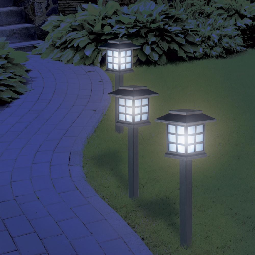 Lampe De Jardin A Led Style Japonais - Maison Futée intérieur Lampadaire De Jardin Sur Pied