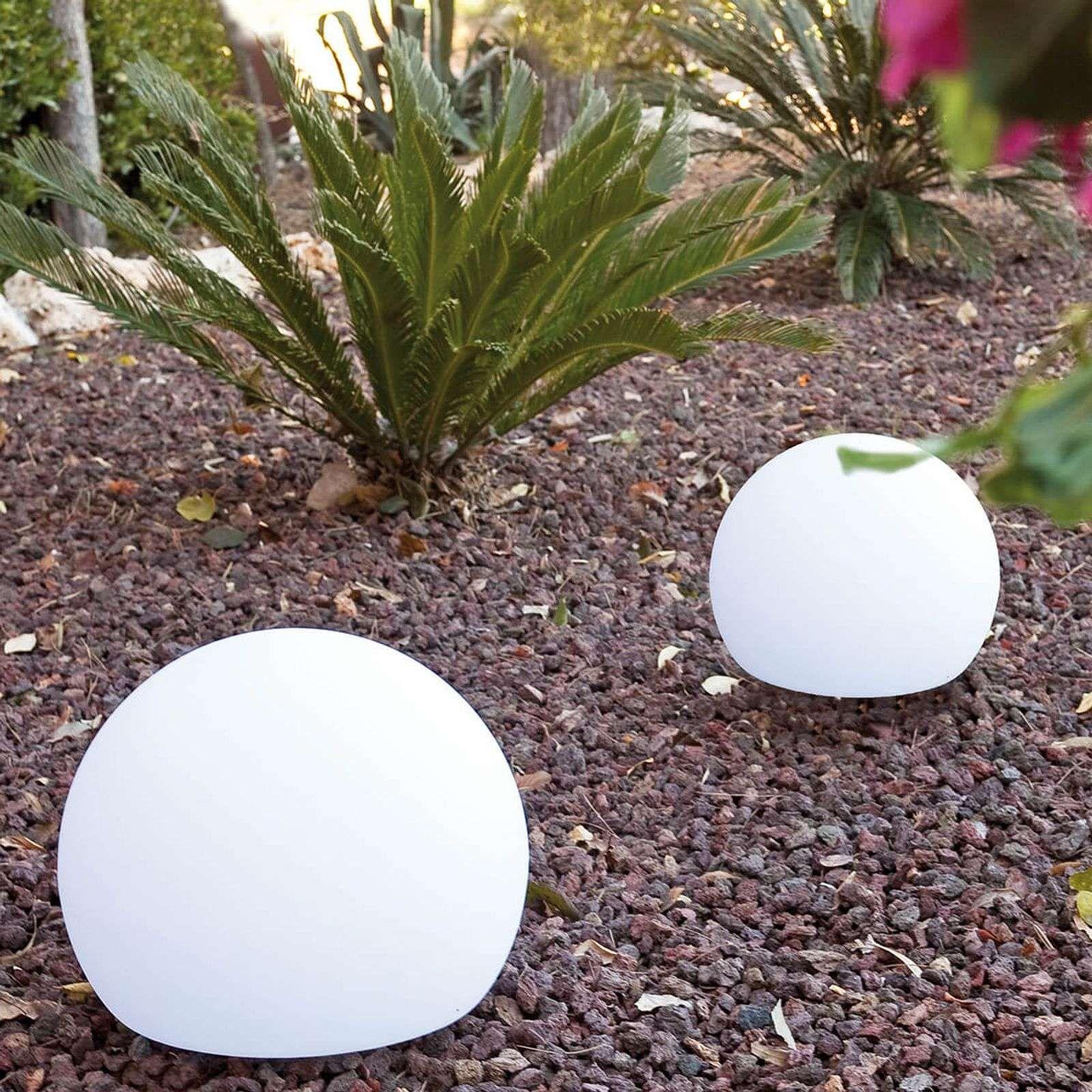 Lampe Décorative D'extérieur Sphérique Balda 40 Cm De ... serapportantà Boule Décorative Jardin