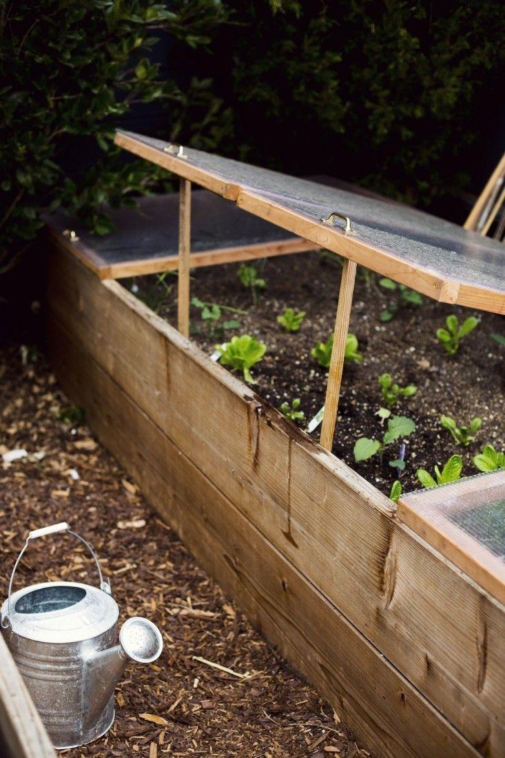 Landscaping 101: Mulch | Joli Jardin, Jardin Potager Et ... intérieur Chassis De Jardin